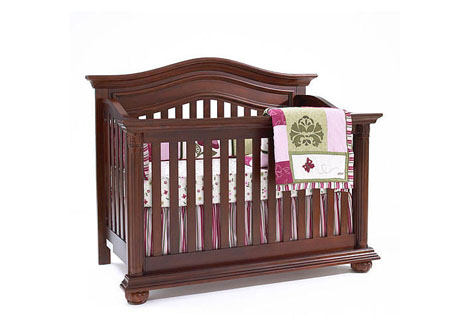 Heritage Full Size Conversion Kit Bed Rails in Cherry By ...