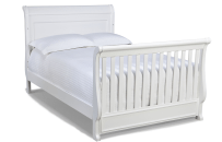 Madison Full Size Conversion Kit Bed Rails in White