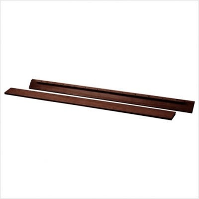 Heritage Full Size Conversion Kit Bed Rails in Espresso