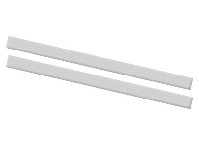 Inspirations Full Size Conversion Kit Bed Rails in Morning Mist