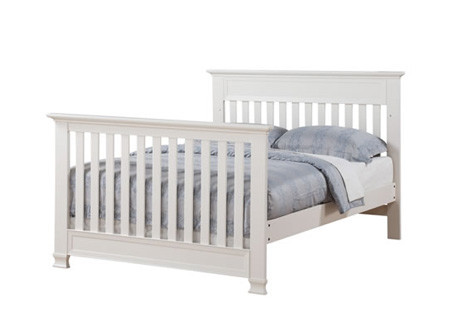 Covington Full Size Conversion Kit Bed Rails In White By Baby Cache
