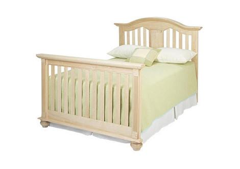 baby cache kensington converted crib natural