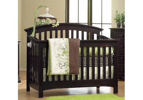 Baby Cache Essentials Conversion Kit - Espressp; Essentials-Bliss  curve-converted; Essentials-Bliss Crib curve ... - Essentials Full Size Conversion Kit Bed Rails In Espresso By Baby