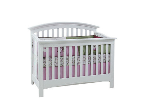 Essentials Bliss Full Size Conversion Kit Bed Rails In White By Baby