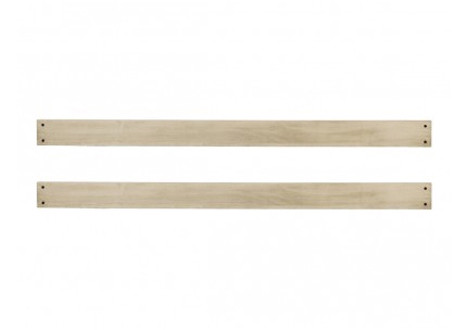 montana full size conversion kit bed rails in driftwood