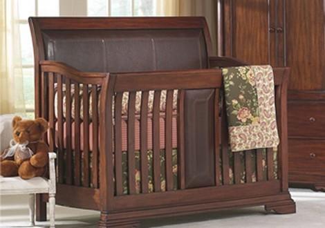 Savoy Toddler Guard Rail In Classic Cherry By Munire Furniture