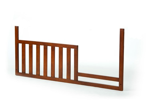 Rockport Toddler Guard Rail in Pecan