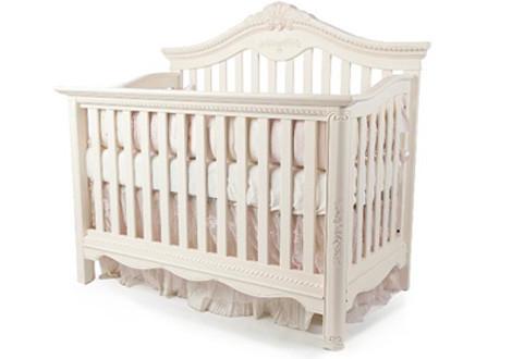 ... Savannah Crib In Linen White ...