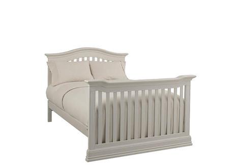Montana Full Size Conversion Kit Bed Rails In Glazed White