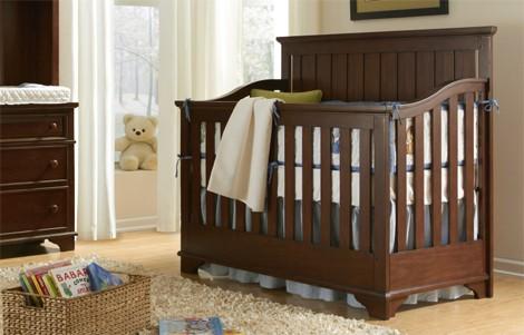 Dawons Ridge Crib in Cherry