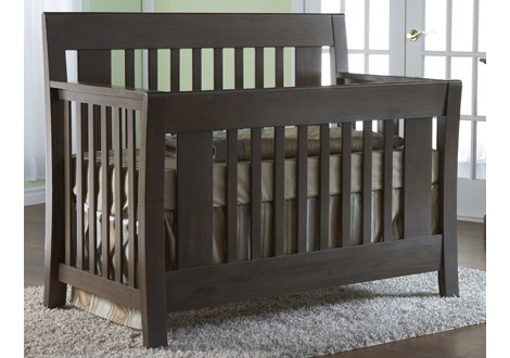 Emilia Crib in Slate by Pali Furniture