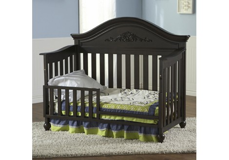 Pali Gardena Crib Converted To Toddler Bed Mocacchino ...