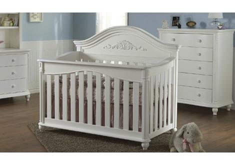 cribs charleston white crib shipping free convertible in graco