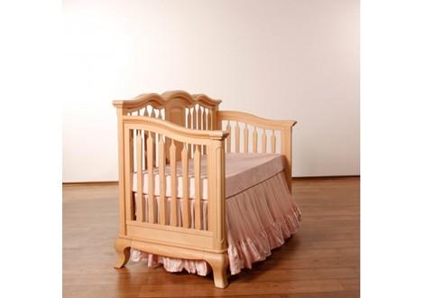 Romina Cleopatra Crib Converted To Day Bed Albero Puro ...