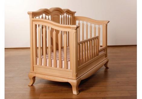 ... Romina Cleopatra Crib Converted To Toddler Bed Albero Puro ...
