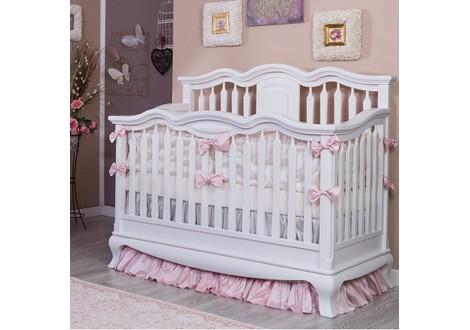 Romina Cleopatra Crib White