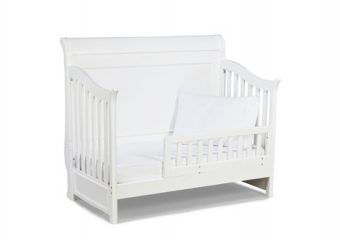 Madison Crib with Toddler rail