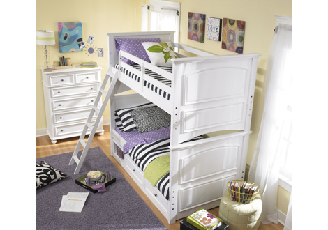 Madison Twin Over Twin Bunk Bed By Legacy Classic Kids