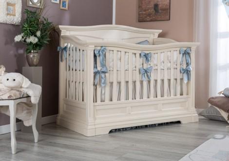 Romina Imperio Solid Panel Crib White