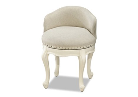 Bellamy Swivel Vanity Seat  sc 1 st  Tots to Teens Furniture & Bellamy Swivel Vanity Seat By SmartStuff Furniture islam-shia.org