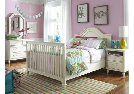 smart stuff gabriella crib converted lace room