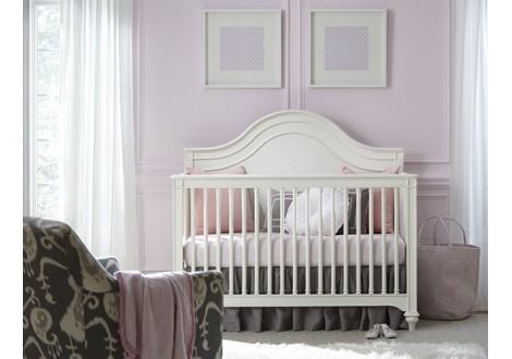 Smart Stuff Genevieve Convertible Crib French White Room ...