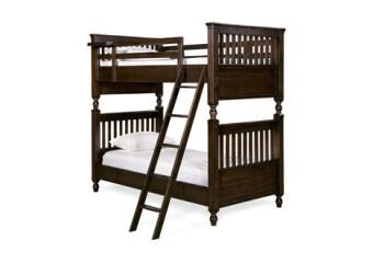 Smart Stuff Paula Deen Guys Twin Bunk Bed  Molasses (2)