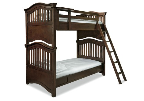 Modern Classics 4 0 Twin Bunk Bed By Smartstuff Furniture Minimalist - Style Of ikea bunk bed weight limit Simple Elegant