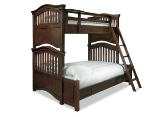 Smartstuff Classics 4.0 Twin Over Full Bunk Bed Classic Cherry
