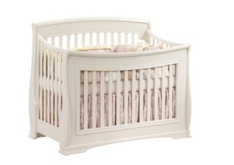 Natart Bella 4-in-1 Convertible Crib in Linen