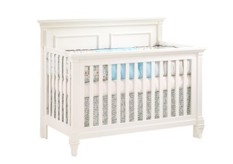 Natart Belmont 4-in-1 Convertible Crib in French White