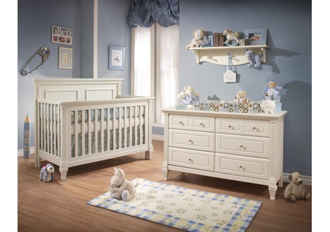 ... Natart Belmont Collection Baby Room In French White ...