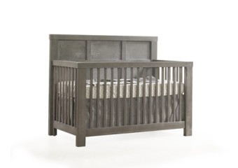 Natart Rustico 4-in-1 Convertible Crib in Owl