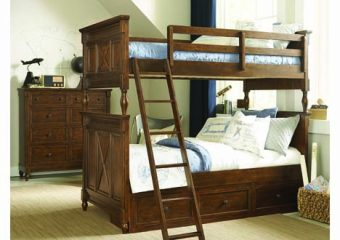 Big Sur Twin over Twin Bunk Bed with Under Bed Storage