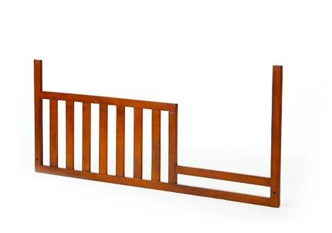 Essentials Bliss Sleigh Toddler Guard Rail in Chestnut
