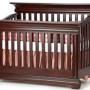 Majestic Crib in Cabernet