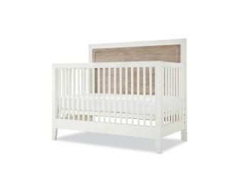 SmartStuff #myRoom Convertible Crib In Gray And Parchment