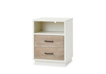 SmartStuff #myRoom Nightstand in Gray and Parchment