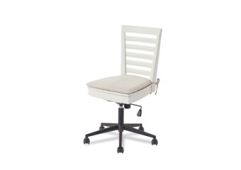 SmartStuff #myRoom Swivel Desk Chair in Gray and Parchment