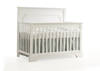 Natart Ithaca 4-in-1 Convertible Crib in White