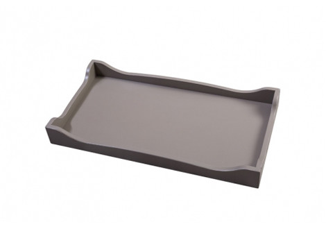 Romina Changing Tray with Scalloped Edge