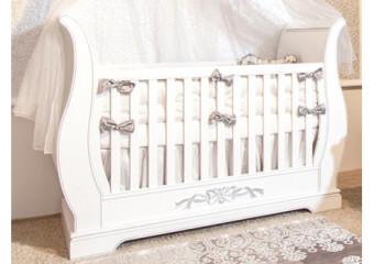 Romina Venice Crib in White