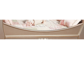 Romina Venice Traditional Crib with Daybed Rail 2