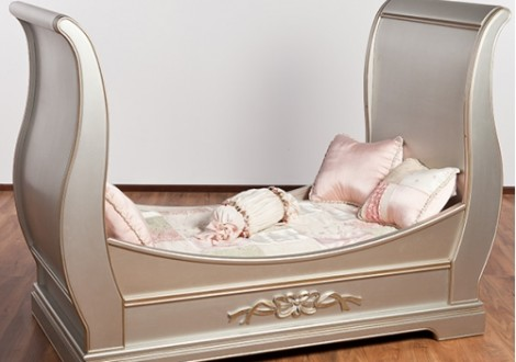 ... Romina Venice Traditional Crib With Daybed Rail ...