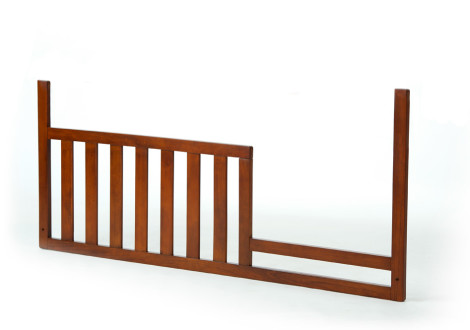 Monarch Toddler Guard Rail in Walnut