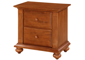 melbourne night stand in fawn