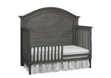 Lucca Toddler Guard Rail in Weathered Grey