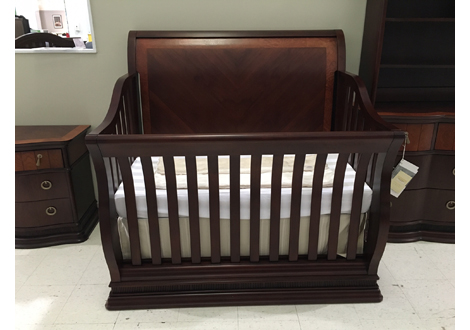 Portland Nursery Collection Convertible Crib and Dresser