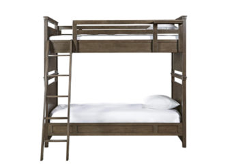 Varsity Twin Bunk Bed Front View