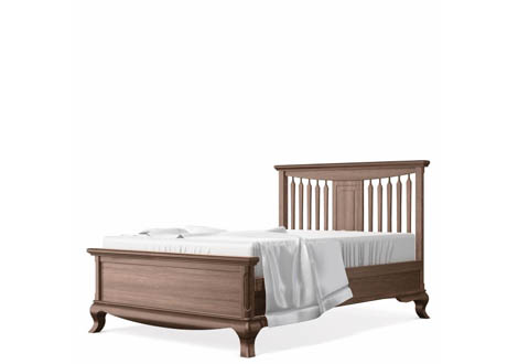 Antonio Full Bed with Slatted Headboard